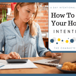 How To Manage Your Household Intentionally