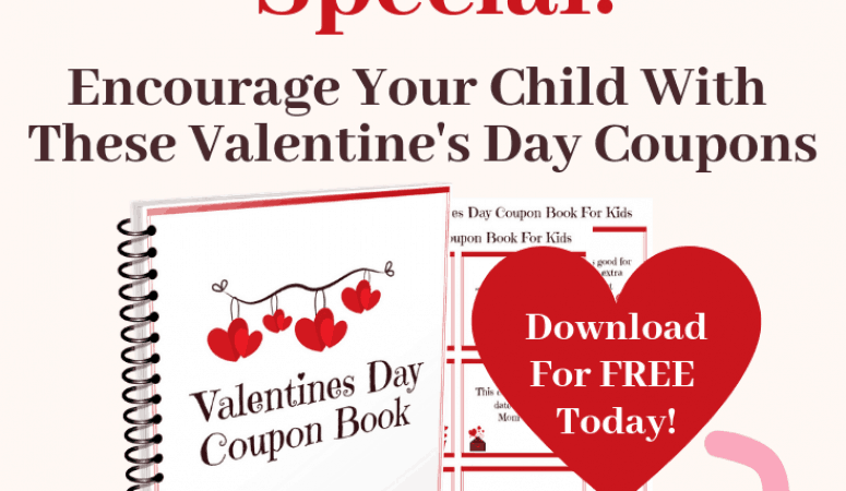 Free Valentine's Day Coupon Book for Families