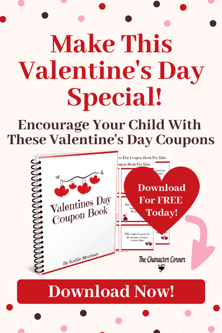 spiral notebook Valentine's Day Coupon Book The Character Corner