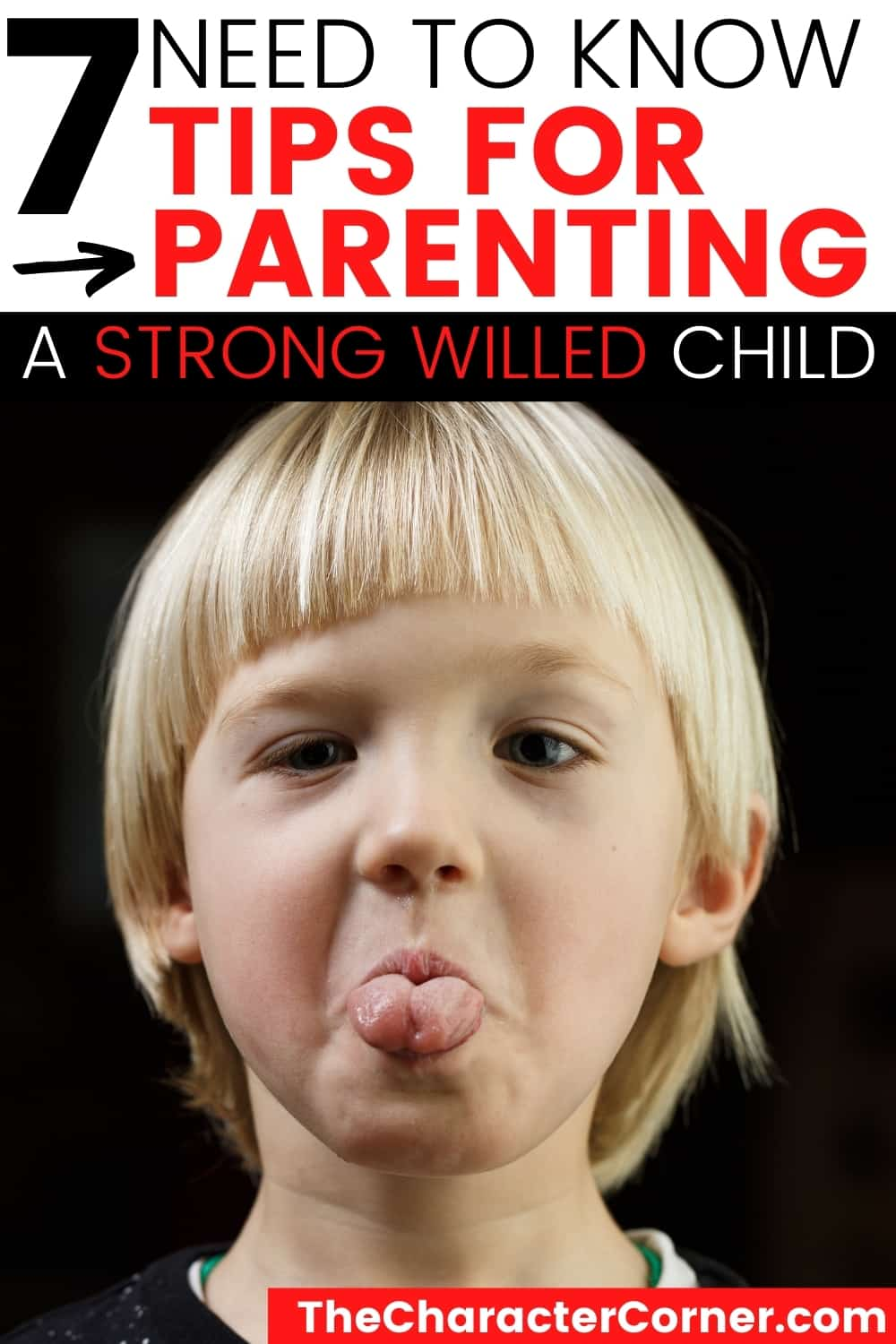 a young boy Strong-Willed Child