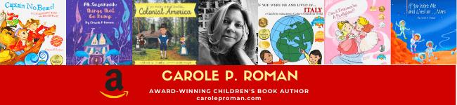 Carole P. Roman's Author Page Banner