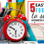 5 Easy Tips For How To Start Homeschooling