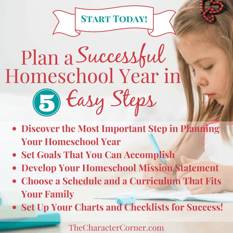 Plan a Successful Homeschool Year