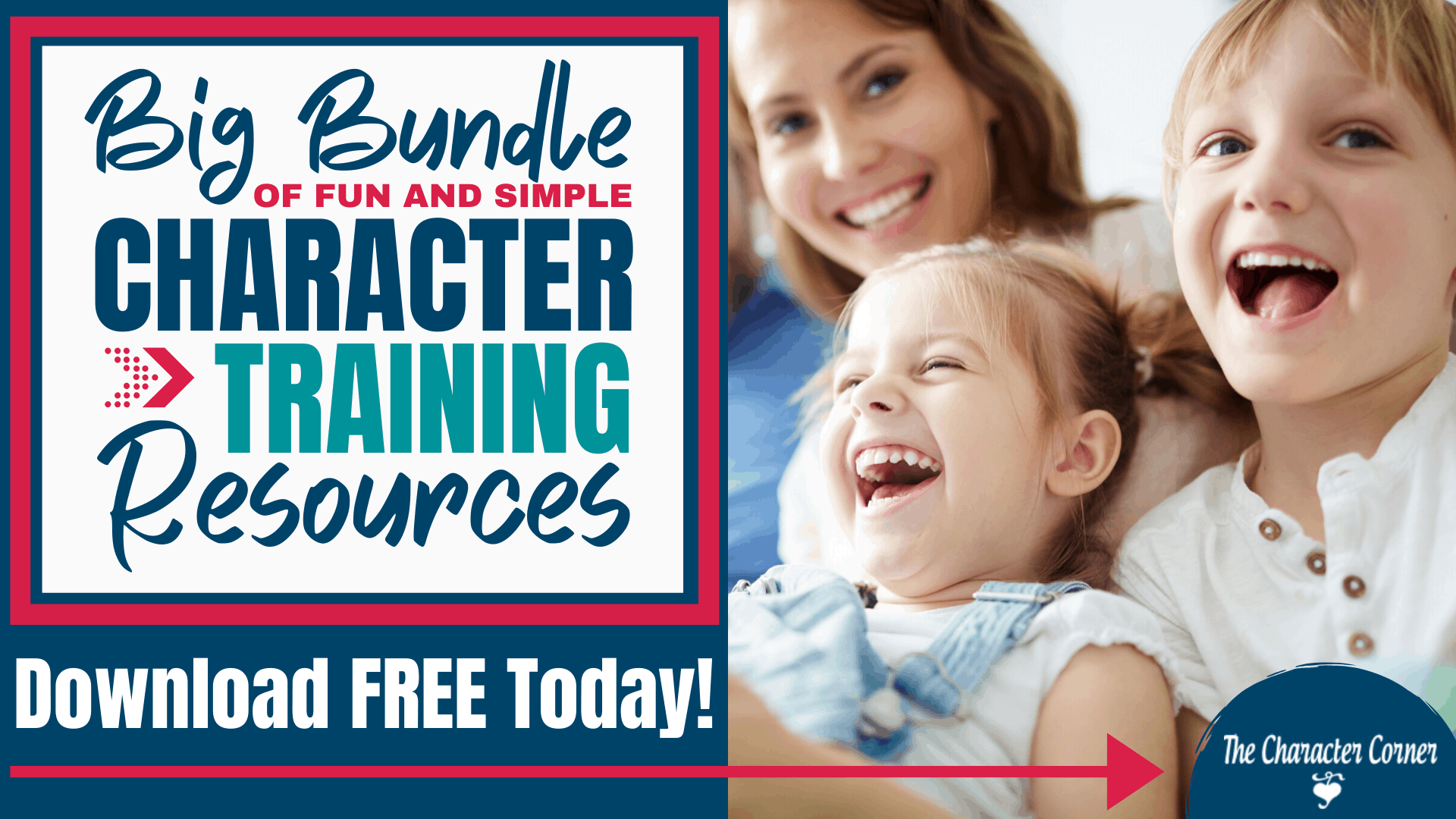 Big Bundle of Fun and Simple Character Training Resources