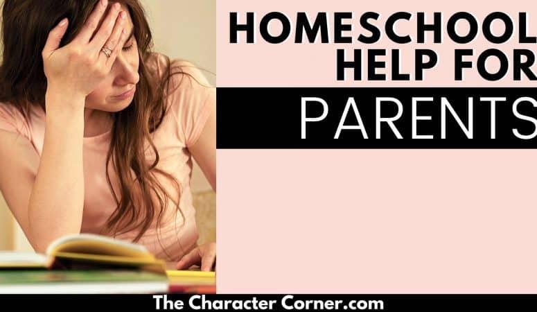 Homeschooling Help For Parents