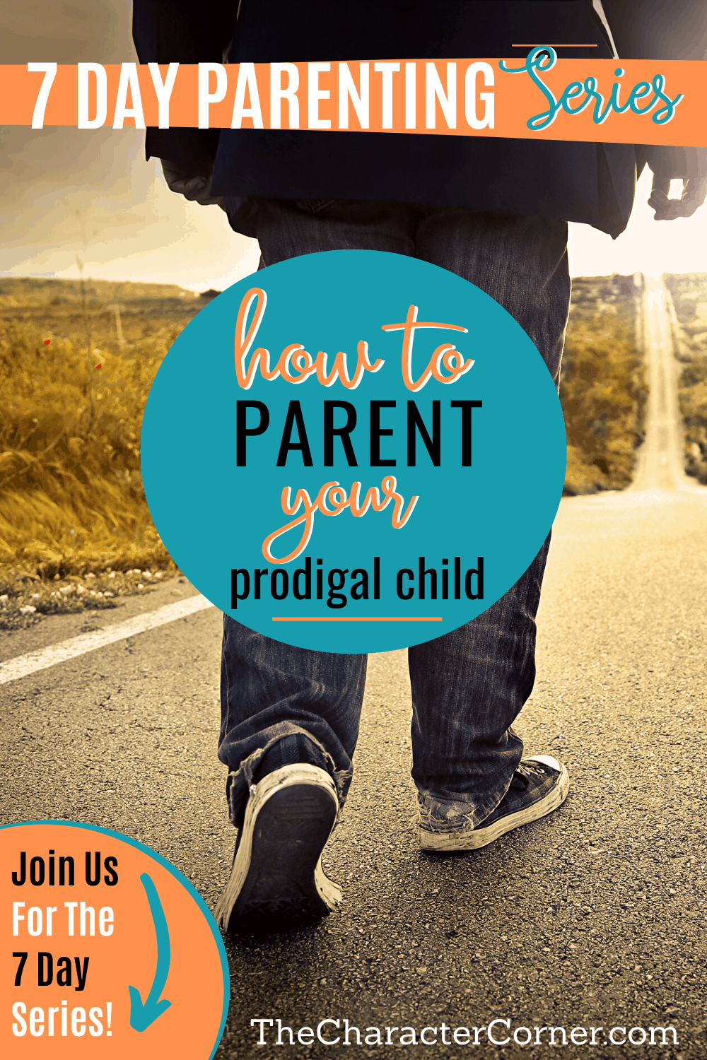 Boy walking down open road How to Parent Your Prodigal Child on The Character Corner