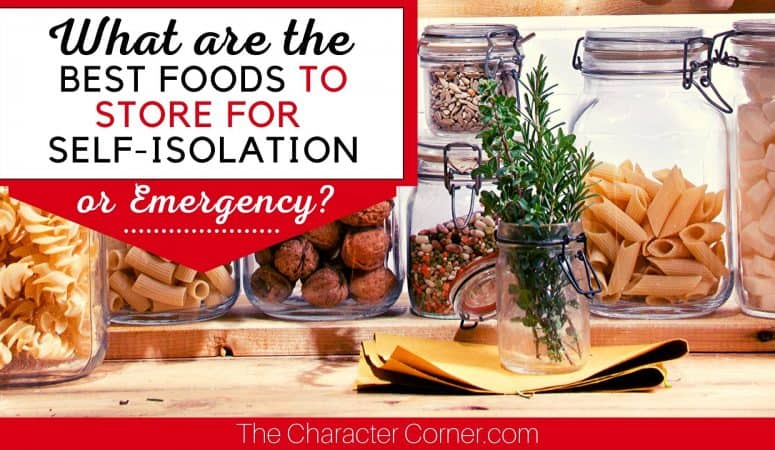 What Are The Best Foods To Store For An Emergency?