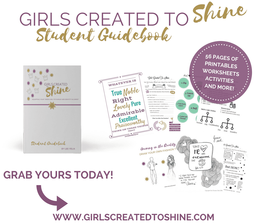 Girls Created to Shine Teacher Guidebook