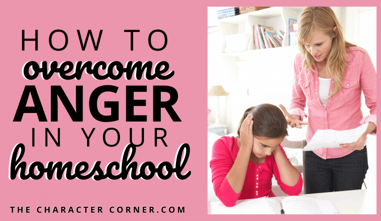 How To Overcome Anger In Your Homeschool