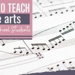 How to Teach fine Arts to High School Students