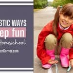 3 Fantastic Ways to Keep Fun In Your Homeschool