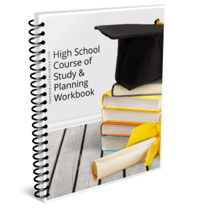 high school course of study books