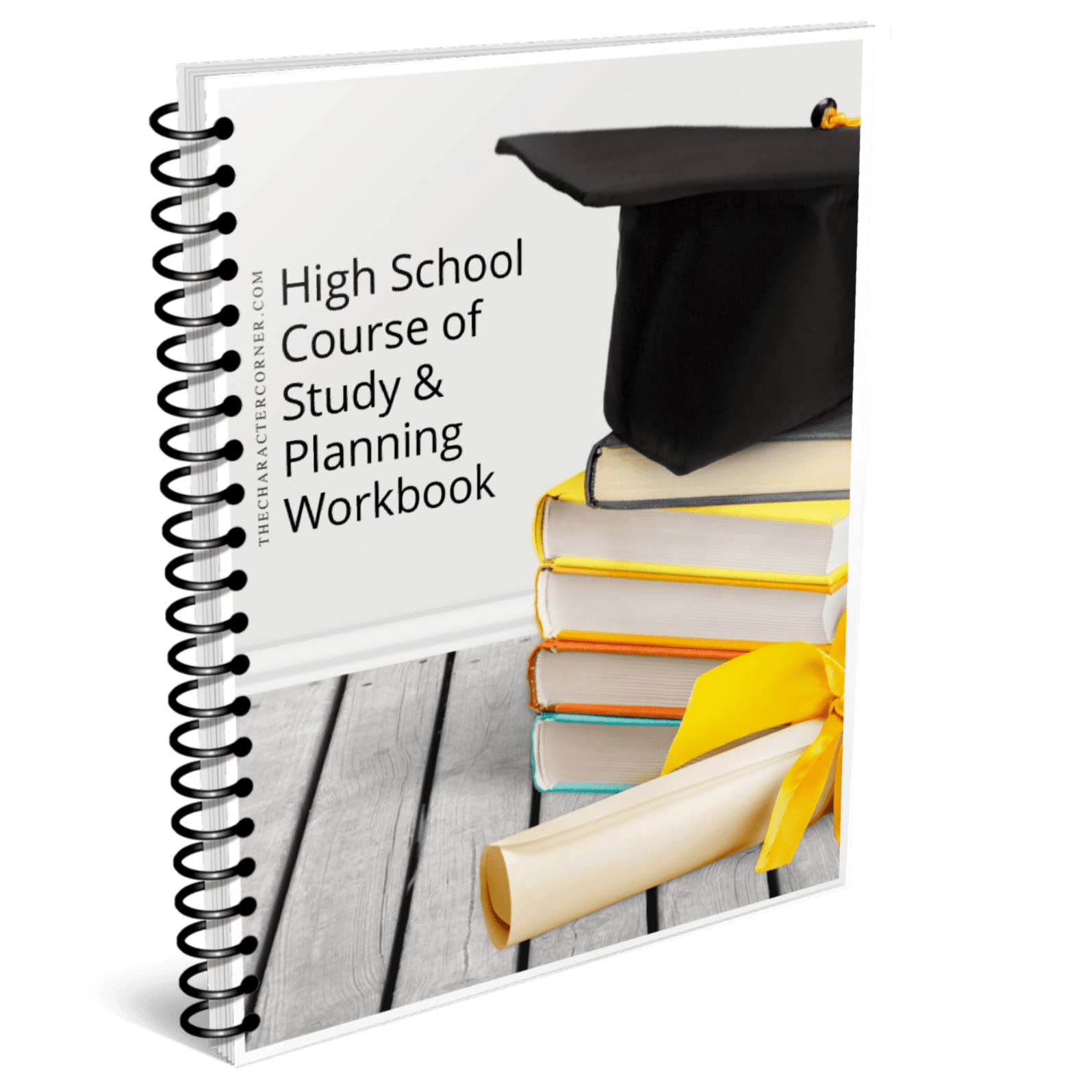 High School Course Of Study Planning Workbook The Character Corner