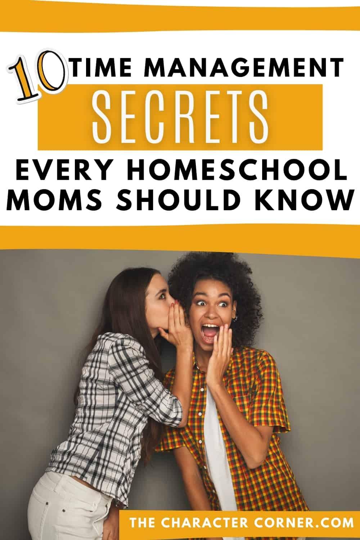 Homeschool Moms Sharing Secrets