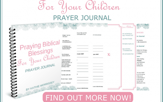 Praying Biblical Blessings Prayer Journal