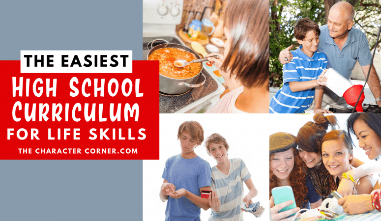 The Easiest High School Curriculum for Life Skills