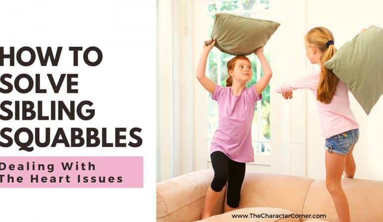 Solving Sibling Squabbles: Dealing With The Heart Issue