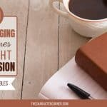 30 Encouraging Scriptures to Fight Depression {and Free Printable}