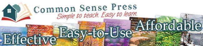 Common Sense Press curriculum