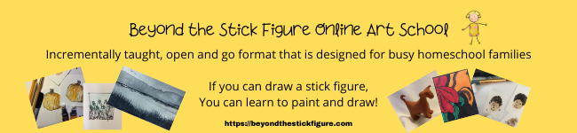 Beyond the Stick Figure Online Art School - sally stansfield